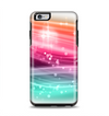 The Vibrant Multicolored Abstract Swirls Apple iPhone 6 Plus Otterbox Symmetry Case Skin Set