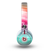The Vibrant Multicolored Abstract Swirls Skin for the Beats by Dre Mixr Headphones