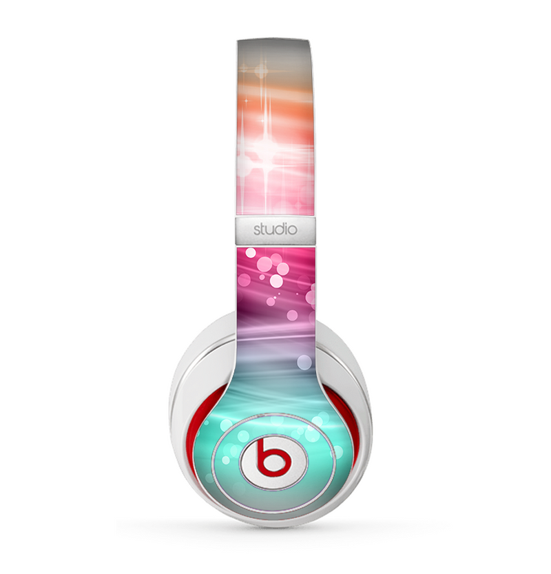 The Vibrant Multicolored Abstract Swirls Skin for the Beats by Dre Studio (2013+ Version) Headphones