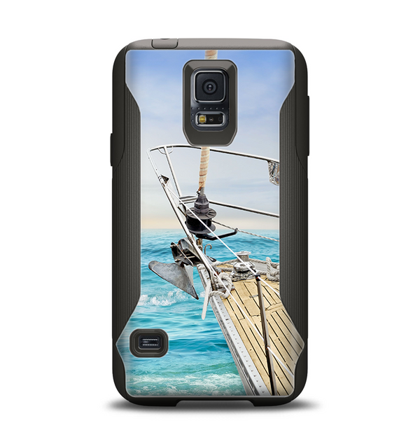 The Vibrant Ocean View From Ship Samsung Galaxy S5 Otterbox Commuter Case Skin Set