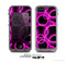 The Vibrant Pink Glowing Cells Skin for the Apple iPhone 5c LifeProof Case