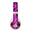 The Vibrant Pink Glowing Cells Skin for the Beats by Dre Studio (2013+ Version) Headphones