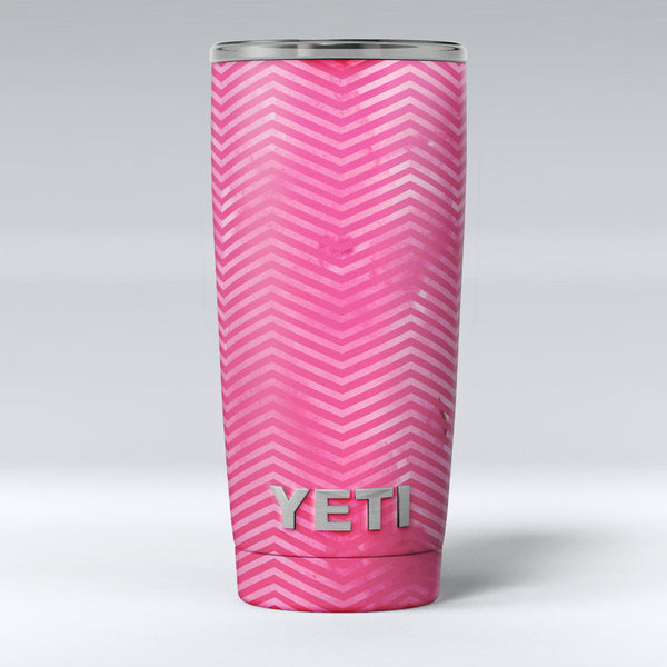 The_Vibrant_Pink_Layers_of_Chevron_-_Yeti_Rambler_Skin_Kit_-_20oz_-_V1.jpg