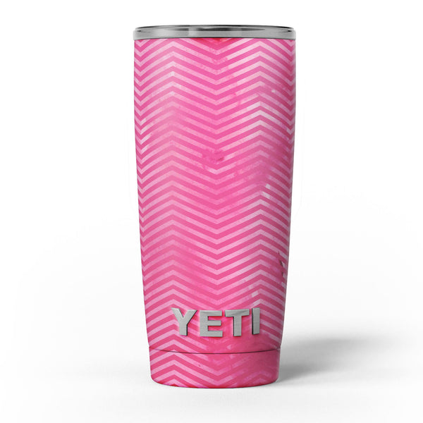 The_Vibrant_Pink_Layers_of_Chevron_-_Yeti_Rambler_Skin_Kit_-_20oz_-_V5.jpg