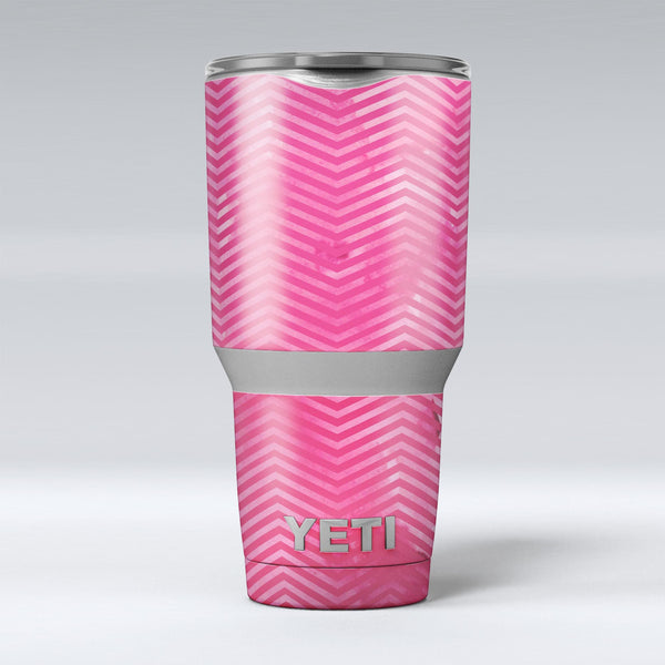 The_Vibrant_Pink_Layers_of_Chevron_-_Yeti_Rambler_Skin_Kit_-_30oz_-_V1.jpg