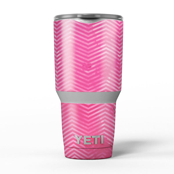 The_Vibrant_Pink_Layers_of_Chevron_-_Yeti_Rambler_Skin_Kit_-_30oz_-_V5.jpg