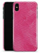 The Vibrant Pink Layers of Chevron  - iPhone X Clipit Case