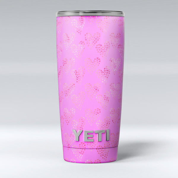 The_Vibrant_Pink_Tiny_Hearts_of_a_Whole_-_Yeti_Rambler_Skin_Kit_-_20oz_-_V1.jpg