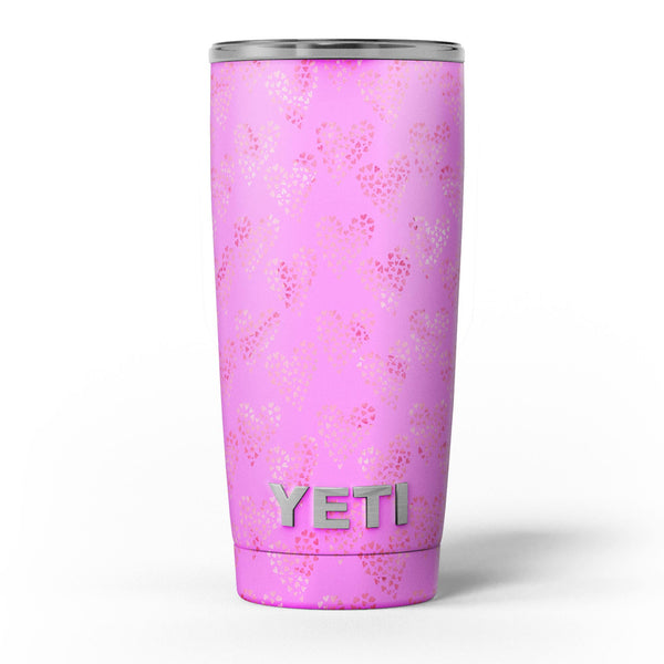 The_Vibrant_Pink_Tiny_Hearts_of_a_Whole_-_Yeti_Rambler_Skin_Kit_-_20oz_-_V5.jpg