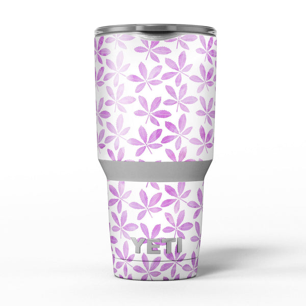 The_Vibrant_Pink_and_Purple_Leaf_-_Yeti_Rambler_Skin_Kit_-_30oz_-_V5.jpg
