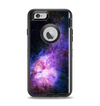 The Vibrant Purple and Blue Nebula Apple iPhone 6 Otterbox Defender Case Skin Set