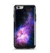 The Vibrant Purple and Blue Nebula Apple iPhone 6 Otterbox Symmetry Case Skin Set
