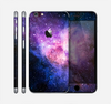 The Vibrant Purple and Blue Nebula Skin for the Apple iPhone 6 Plus