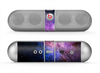 The Vibrant Purple and Blue Nebula Skin for the Beats by Dre Pill Bluetooth Speaker