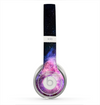 The Vibrant Purple and Blue Nebula Skin for the Beats by Dre Solo 2 Headphones
