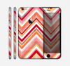 The Vibrant Red & Yellow Sharp Layered Chevron Pattern Skin for the Apple iPhone 6 Plus