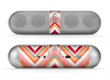 The Vibrant Red & Yellow Sharp Layered Chevron Pattern Skin for the Beats by Dre Pill Bluetooth Speaker