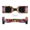 The Vibrant Striped Cheetah Animal Print Full-Body Skin Set for the Smart Drifting SuperCharged iiRov HoverBoard