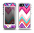 The Vibrant Teal & Colored Chevron Pattern V1 Skin for the iPhone 5-5s OtterBox Preserver WaterProof Case
