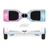 The Vibrant Vintage Polka & Sketch Pink-Blue Floral Full-Body Skin Set for the Smart Drifting SuperCharged iiRov HoverBoard