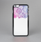 The Vibrant Vintage Polka & Sketch Pink-Blue Floral Skin-Sert for the Apple iPhone 6 Skin-Sert Case