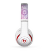 The Vibrant Vintage Polka & Sketch Pink-Blue Floral Skin for the Beats by Dre Studio (2013+ Version) Headphones