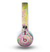 The Vibrant Yellow Colored Dots Skin for the Beats by Dre Mixr Headphones