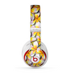 The Vibrant Yellow Flower Pattern Skin for the Beats by Dre Studio (2013+ Version) Headphones
