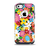 The Vibrant vector Flower Petals Skin for the iPhone 5c OtterBox Commuter Case