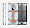 The Vinatge Blue Striped & Chained Anchor Skin for the Apple iPhone 6