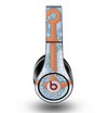 The Vinatge Blue Striped & Chained Anchor Skin for the Original Beats by Dre Studio Headphones