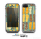 The Vinatge Blue & Yellow Flip-Flops Skin for the Apple iPhone 5c LifeProof Case