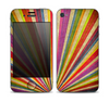 The Vintage Sprouting Ray of colors Skin for the Apple iPhone 4-4s