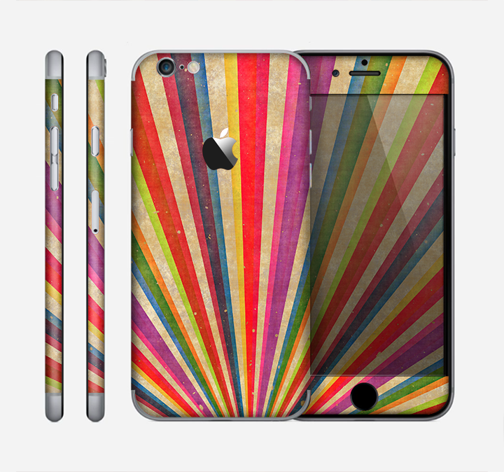 The Vinatge Sprouting Ray of colors Skin for the Apple iPhone 6