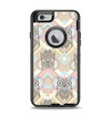 The Vintage Abstract Owl Tan Pattern Apple iPhone 6 Otterbox Defender Case Skin Set