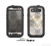The Vintage Abstract Owl Tan Pattern Skin For The Samsung Galaxy S3 LifeProof Case