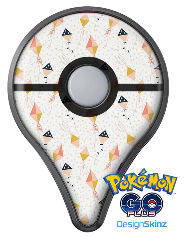 The Vintage All Over Kite Flying Pattern Pokémon GO Plus Vinyl Protective Decal Skin Kit
