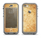 The Vintage Antique Gold Grunge Pattern Apple iPhone 5c LifeProof Nuud Case Skin Set