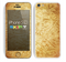 The Vintage Antique Gold Grunge Pattern Skin for the Apple iPhone 5c