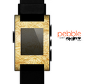 The Vintage Antique Gold Grunge Pattern Skin for the Pebble SmartWatch