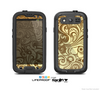 The Vintage Antique Gold Vector Pattern Skin For The Samsung Galaxy S3 LifeProof Case