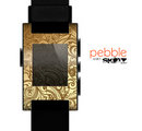 The Vintage Antique Gold Vector Pattern Skin for the Pebble SmartWatch