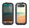 The Vintage Beach Scene Samsung Galaxy S3 LifeProof Fre Case Skin Set