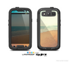 The Vintage Beach Scene Skin For The Samsung Galaxy S3 LifeProof Case