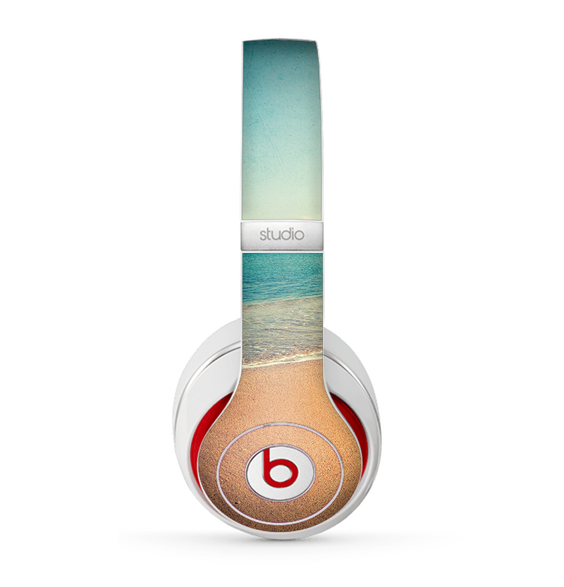 The Vintage Beach Scene Skin for the Beats by Dre Studio (2013+ Version) Headphones
