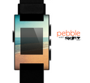 The Vintage Beach Scene Skin for the Pebble SmartWatch for the Pebble Watch