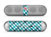 The Vintage Blue & Black Plaid Skin for the Beats by Dre Pill Bluetooth Speaker