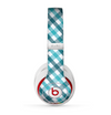 The Vintage Blue & Black Plaid Skin for the Beats by Dre Studio (2013+ Version) Headphones