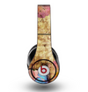 The Vintage Blue Butterfly Background Skin for the Original Beats by Dre Studio Headphones