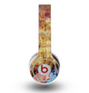 The Vintage Blue Butterfly Background Skin for the Original Beats by Dre Wireless Headphones